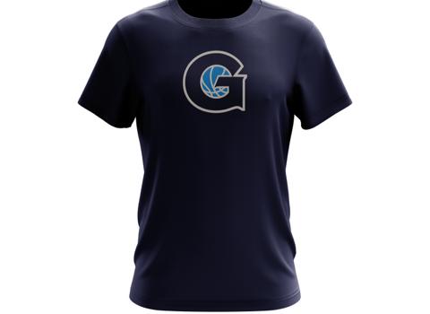 Navy Grassroots T Shirt