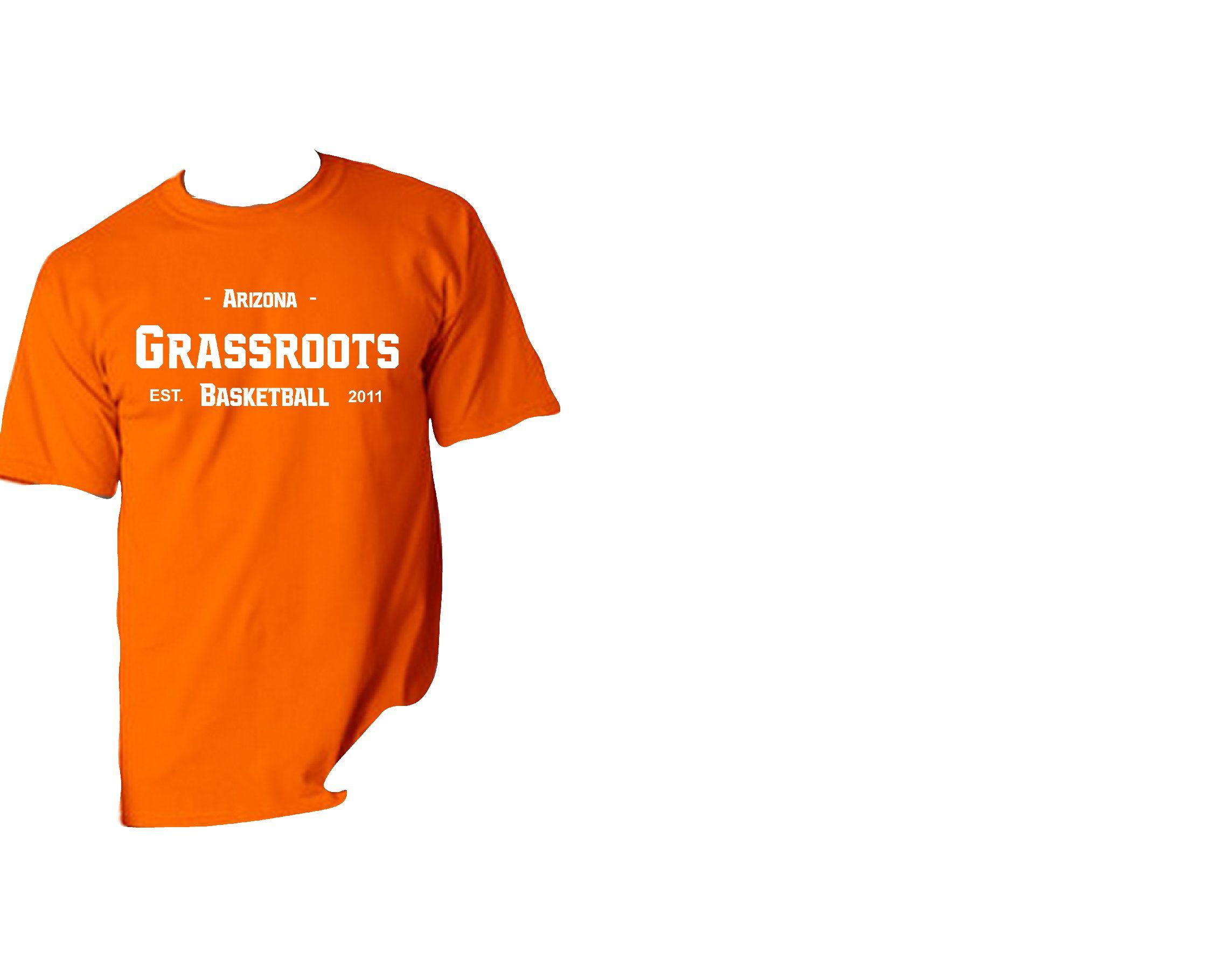 Orange Grassroots 2011 Shirt